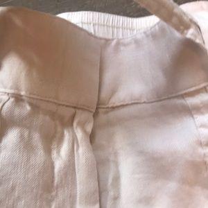 LOFT Pants - Loft Linen Capris. Size Small. Worn once. Cream.